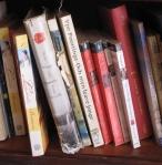 Hotelbibliotheekje in Gambia. Inclusief een Fries boek.