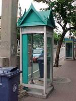 Thai phone booth